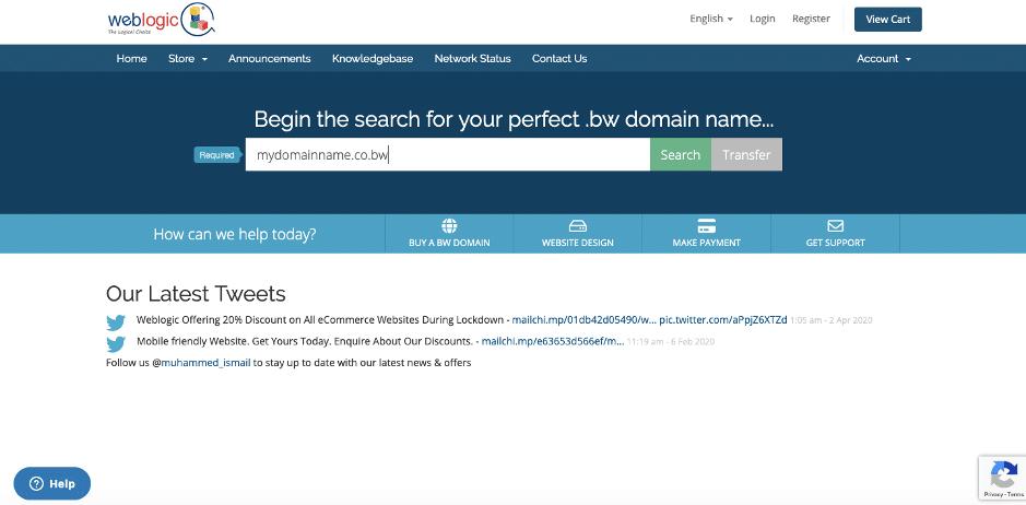 Weblogic Self Service Portal